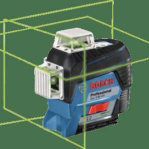 פלס לייזר צלב ירוק GLL 3-80 GC Bosch
